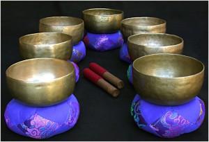 Массаж с помощью тибетских поющих чаш Мастер-класс Маляровой Натальи